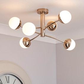 pendant ceiling lighting. 5A Fifth Avenue Verden Sphere 6 Light Fitting Pendant Ceiling Lighting