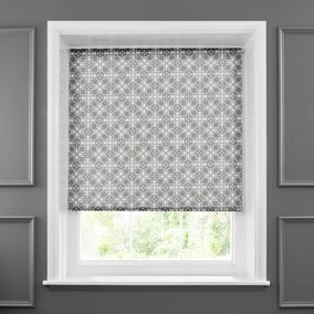 Amal Charcoal Sheer Roller Blind