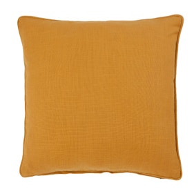 Ochre Casual Slub Cushion