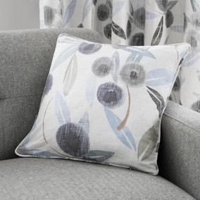 Clara Blue Cotton Cushion
