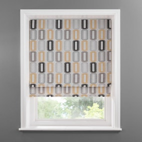 Elements Dahl Ochre Blackout Roman Blind
