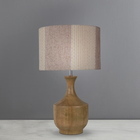 Elements Sala Mango Wood Table Lamp