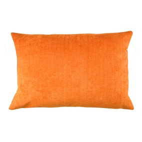 Chenille Topaz Terracotta Rectangular Cushion Cover