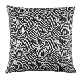 Black Zebra Cushion Cover