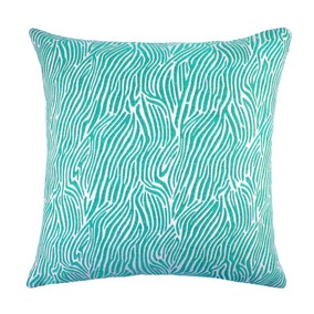 Jade Zebra Cushion Cover