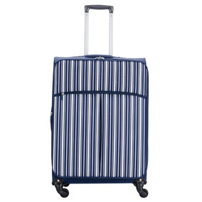Lightweight Navy 26 Inch Suitcase