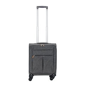 Lightweight Grey 18 Inch Cabin Case
