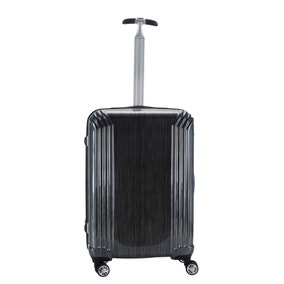 ABS Silver Scratch 26 Inch Suitcase