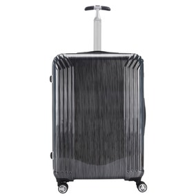 ABS Silver Scratch 30 Inch Suitcase