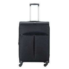 Lightweight Black 26 Inch Suitcase