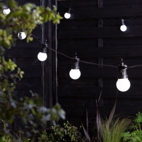 Black Festoon Lighting
