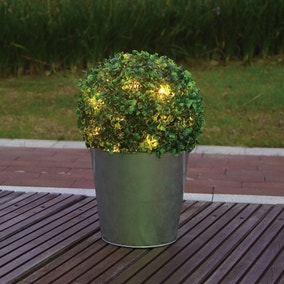 Light Up Artificial Topiary Ball