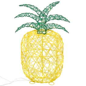 Wicker Pineapple Light