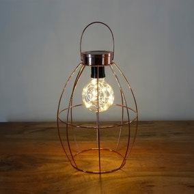 Copper Wire Solar Powered Lantern