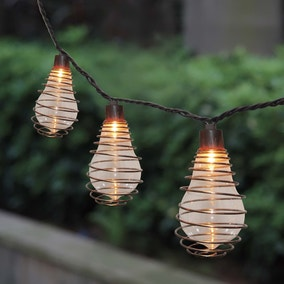 Set of 10 Wire Bulb String Lights