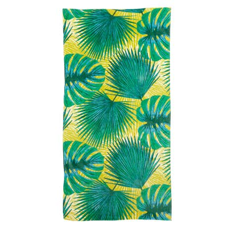 Voyager Leaves Beach Towel