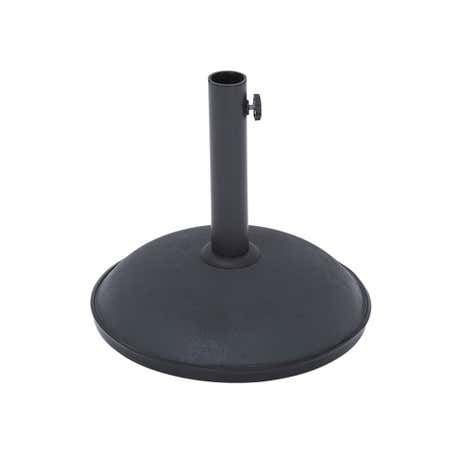 Basic Black 13kg Parasol Weight
