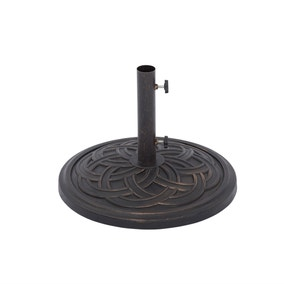 Scroll Black 13kg Parasol Base