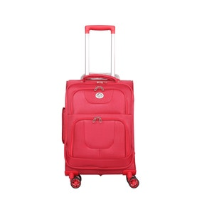 Knightsbridge Red 21 Inch Suitcase
