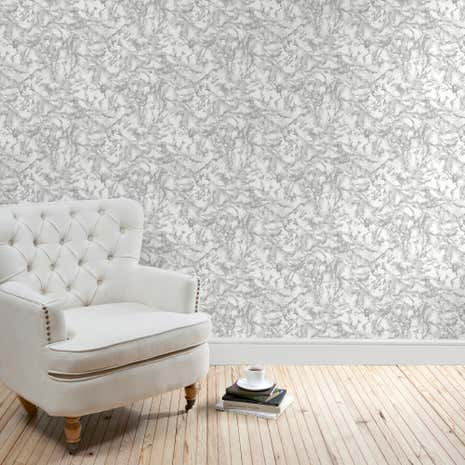 5A Fifth Avenue Grey Marble Wallpaper