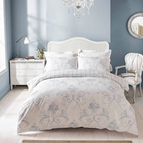 Twiggy Provence 100% Cotton Reversible Duvet Cover and Pillowcase Set