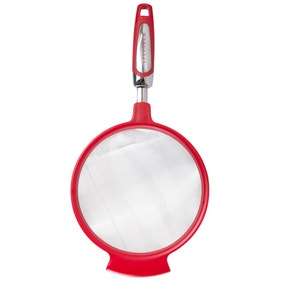 Spectrum 7 Inch Red Strainer