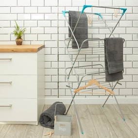 Energise 3 Tier Metal Teal Airer