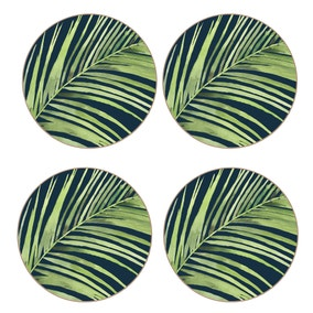 Calypso Pack of 4 Green Coasters