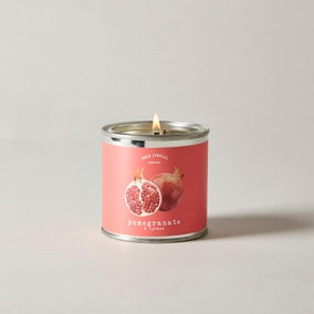 Wax Lyrical Superscents Collection Pomegranate and Lychee Tin Candle