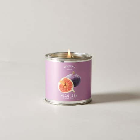 Wax Lyrical Superscents Collection Wild Fig and Acai Tin Candle
