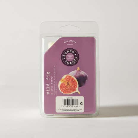 Wax Lyrical Superscents Collection Wild Fig and Acai Wax Melts