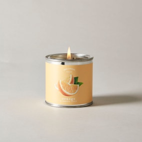 Wax Lyrical Superscents Collection Orange and Passion Fruit Tin Candle