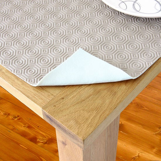Luxury Table Protector Mocha Brown