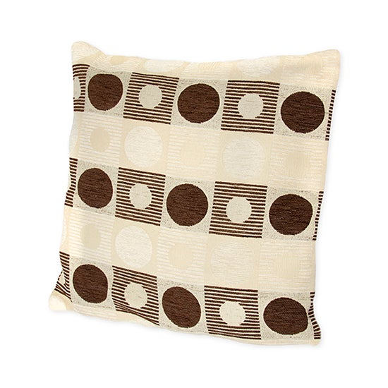 Photo of Richmond cushion cover chocolate brown