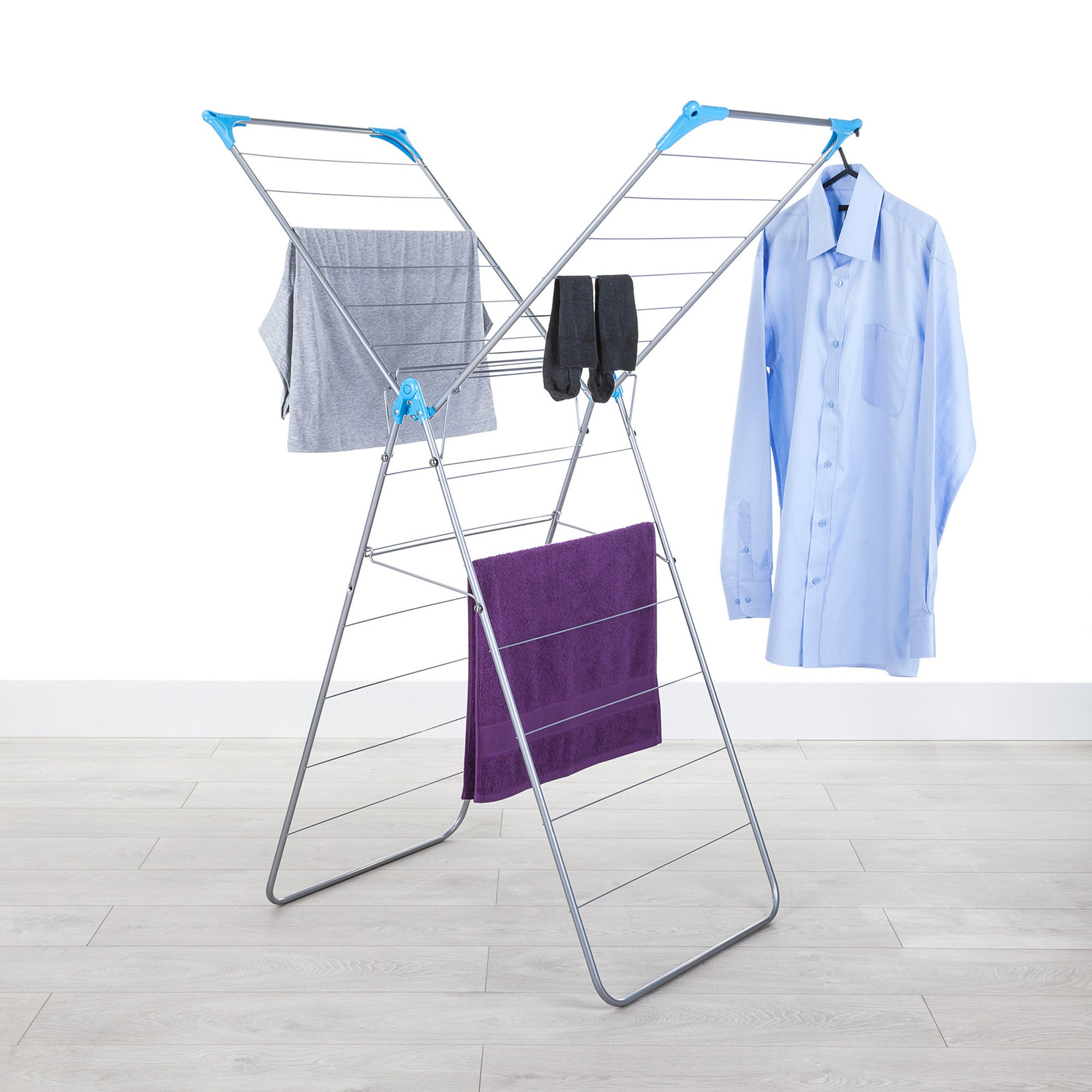White X Wing Indoor Airer White
