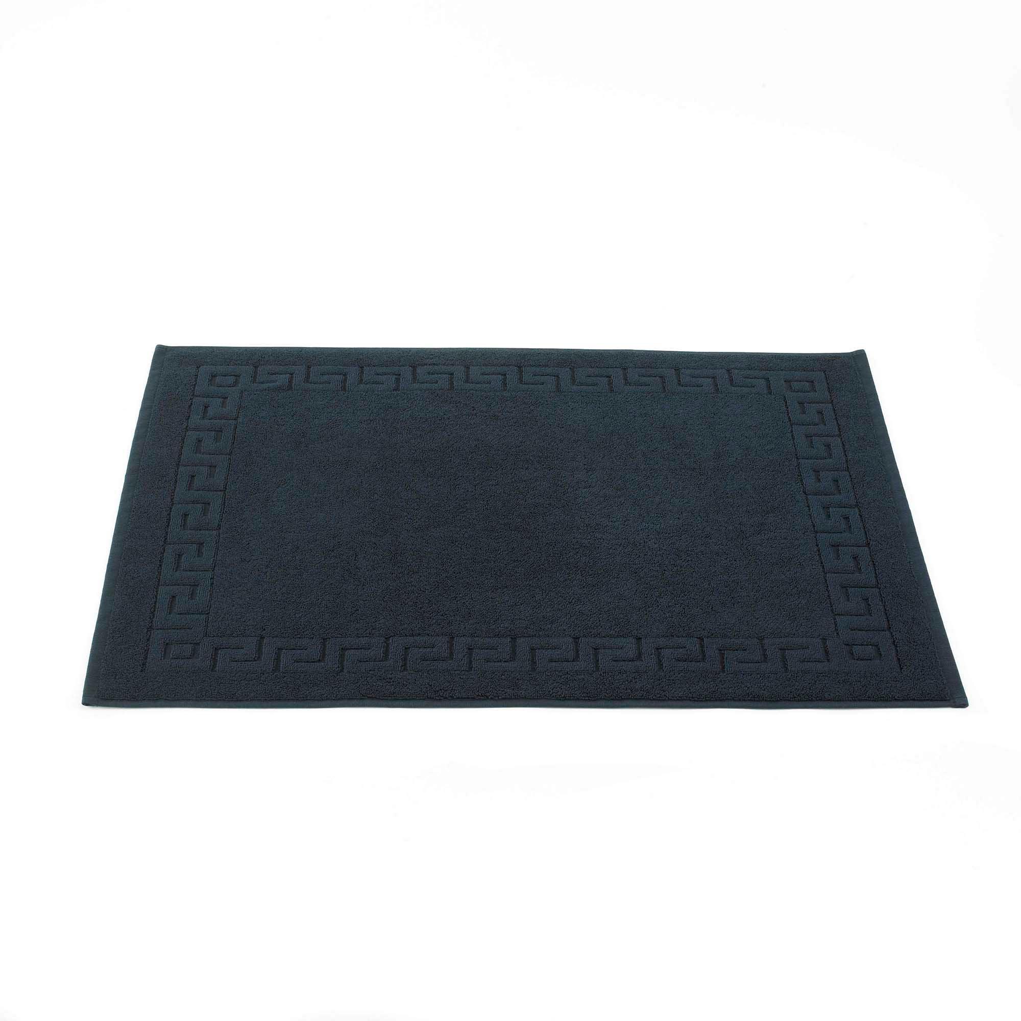 Photo of 100 egyptian cotton bath mat black