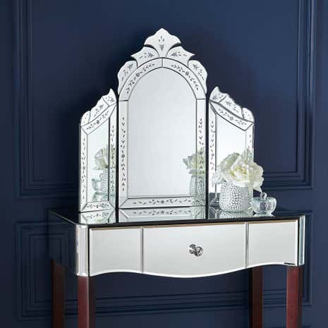 mirror table. dressing table mirror