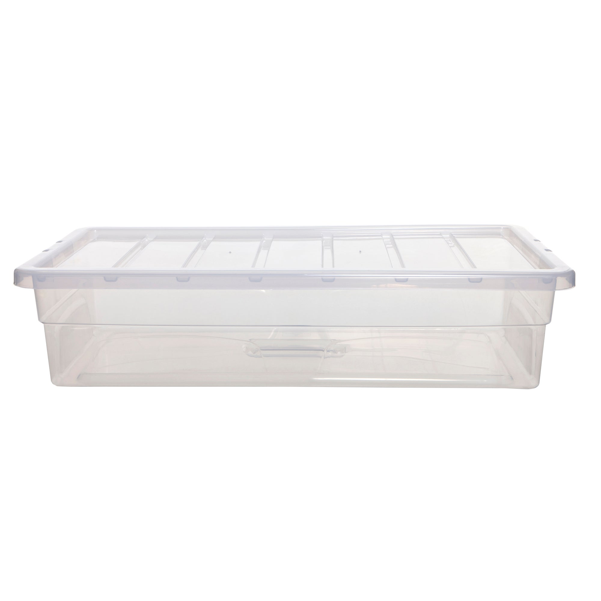 Spacemaster 42 Litre Storage Box Clear