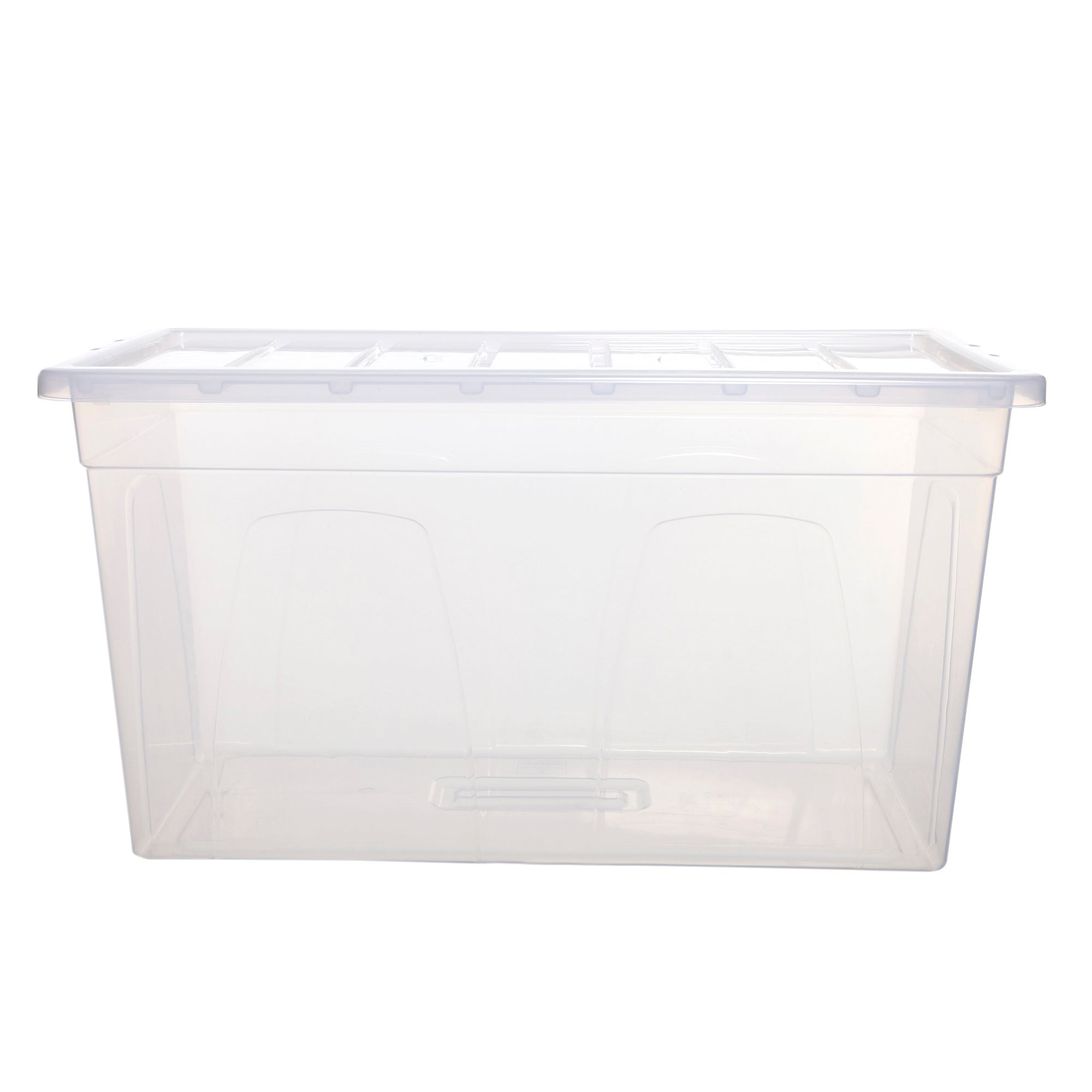 Spacemaster 100 Litre Storage Box Clear