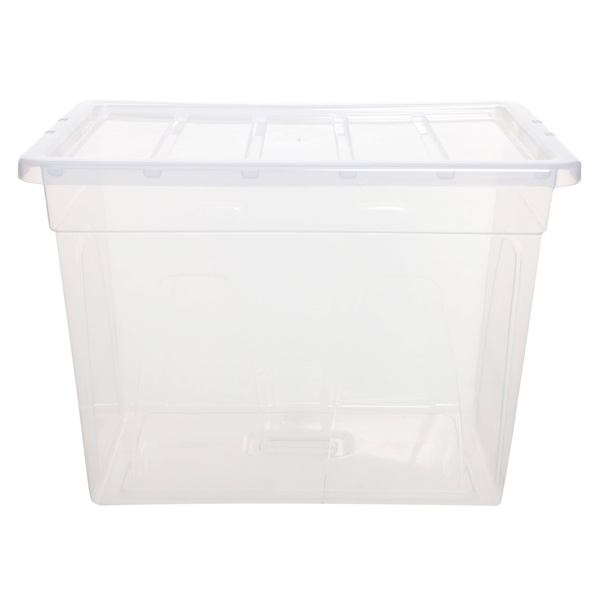 Spacemaster 66 Litre Storage Box Clear