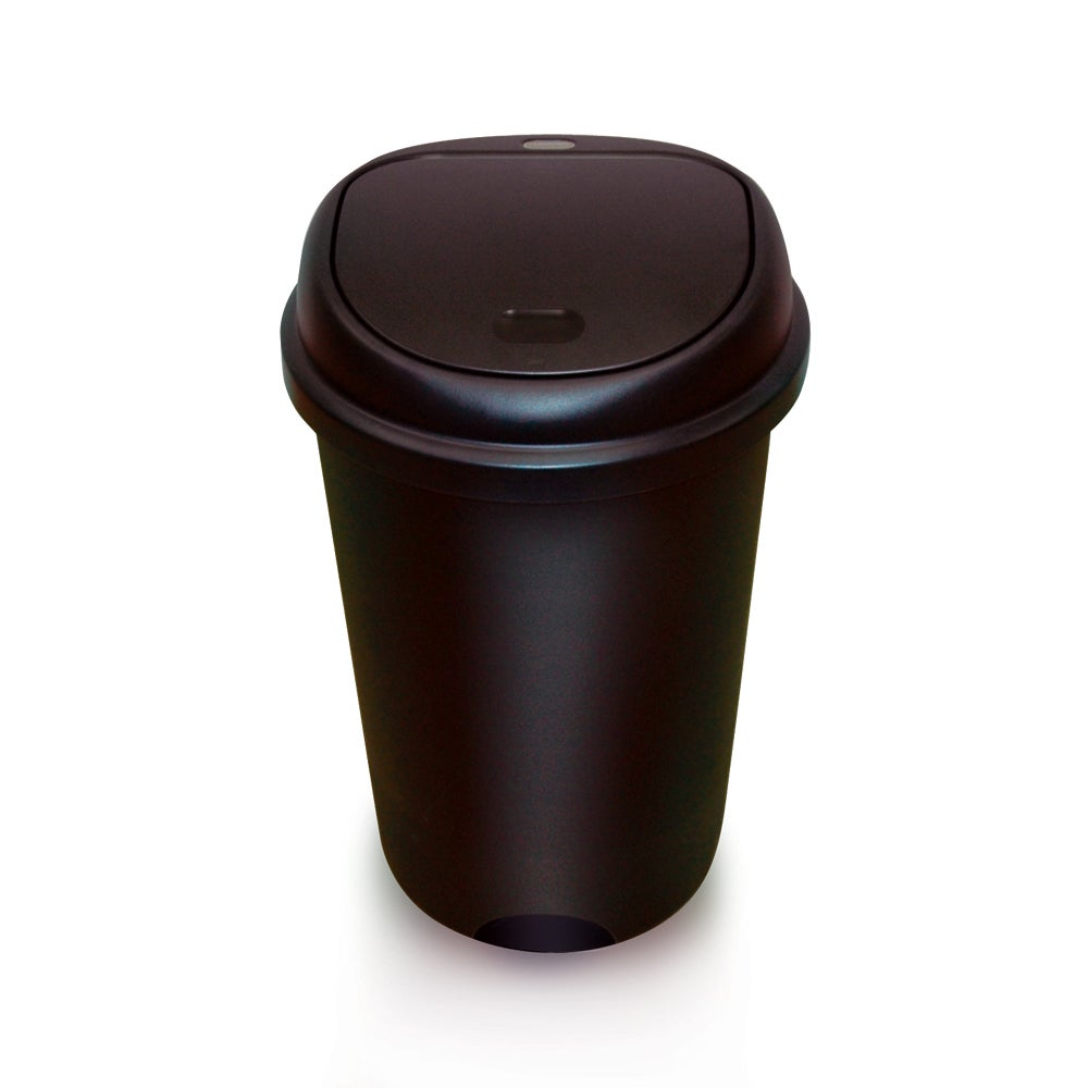 Addis 48 Litre Touch Top Bin Black