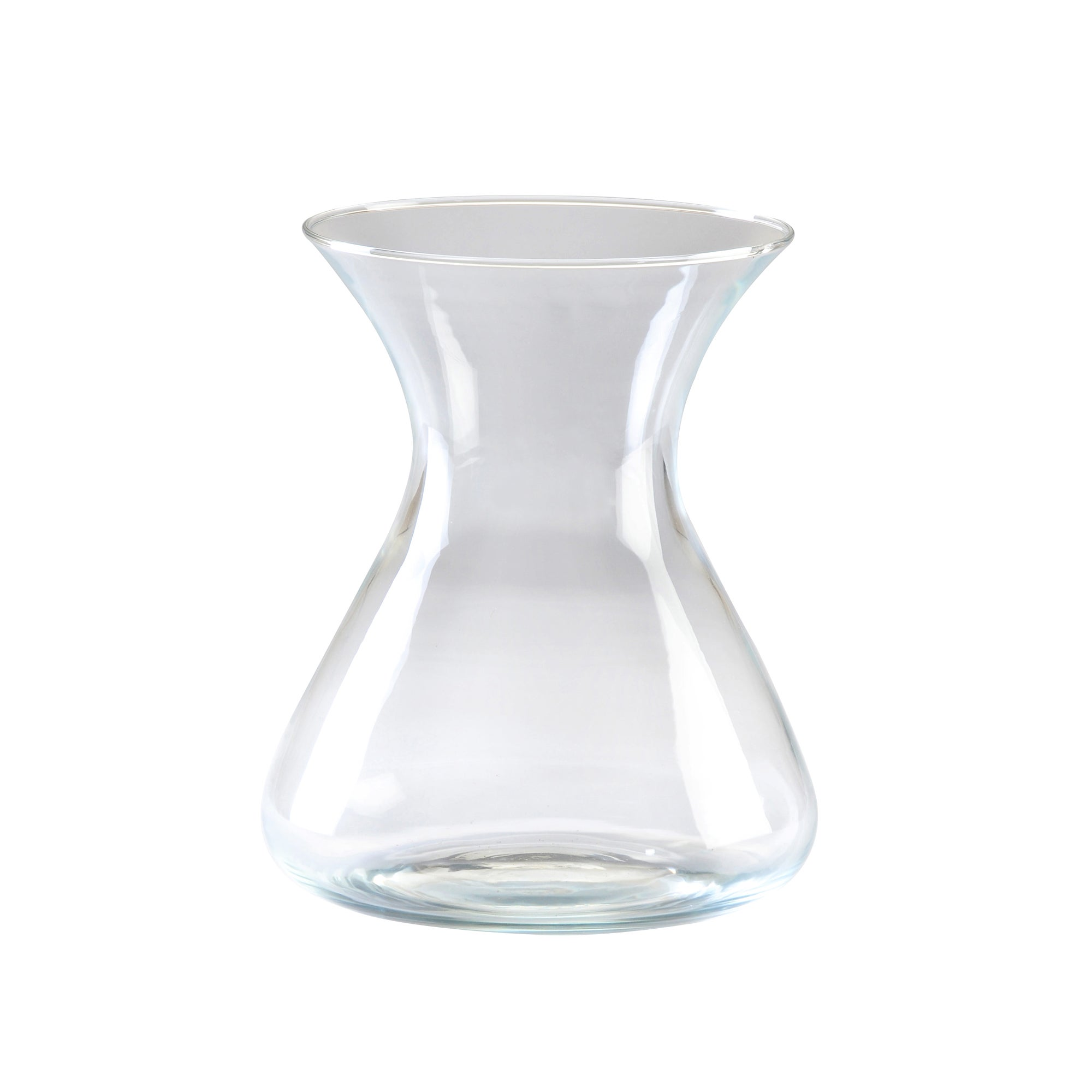 Image of Conical Flower Vase Clear