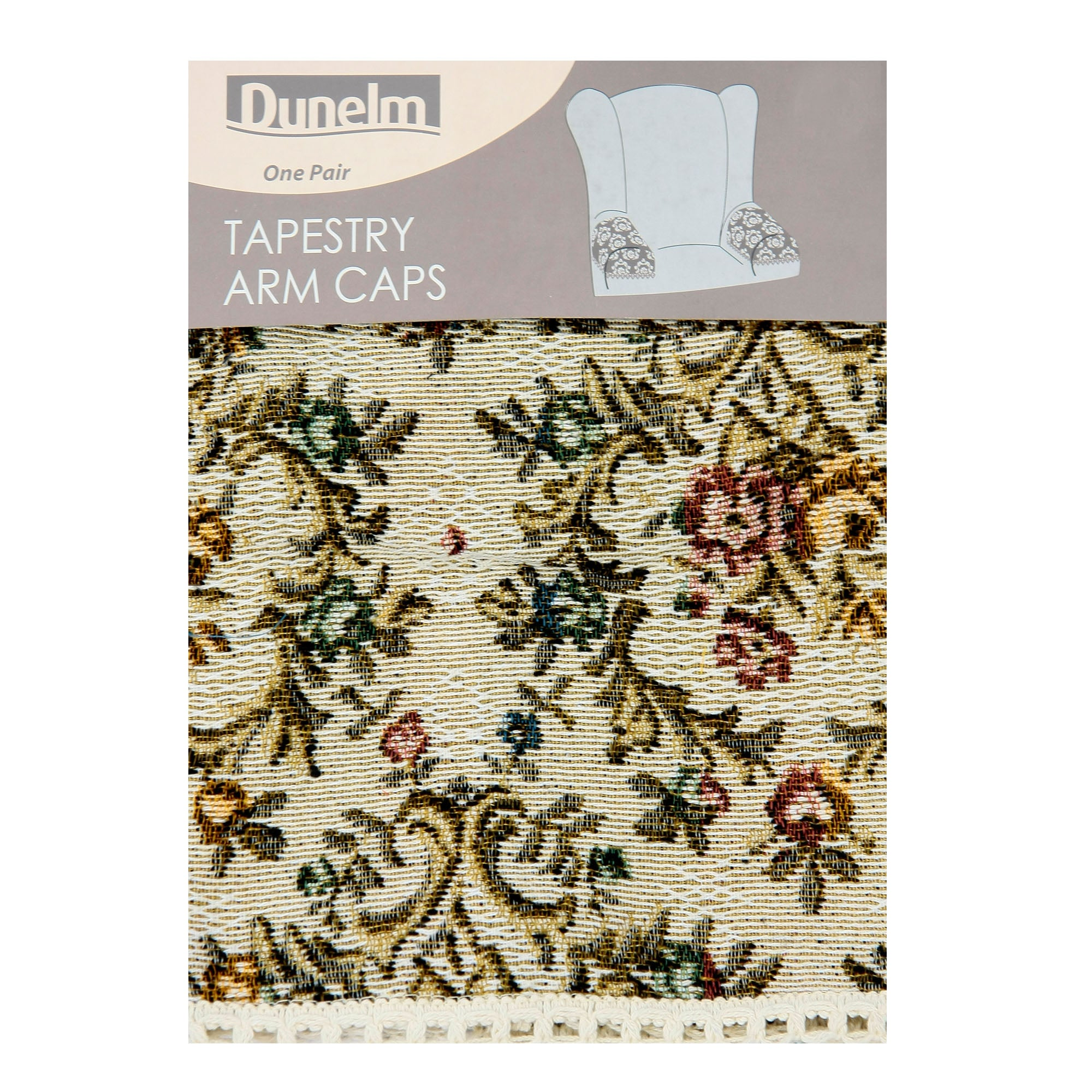 Tapestry Arm Caps Cream