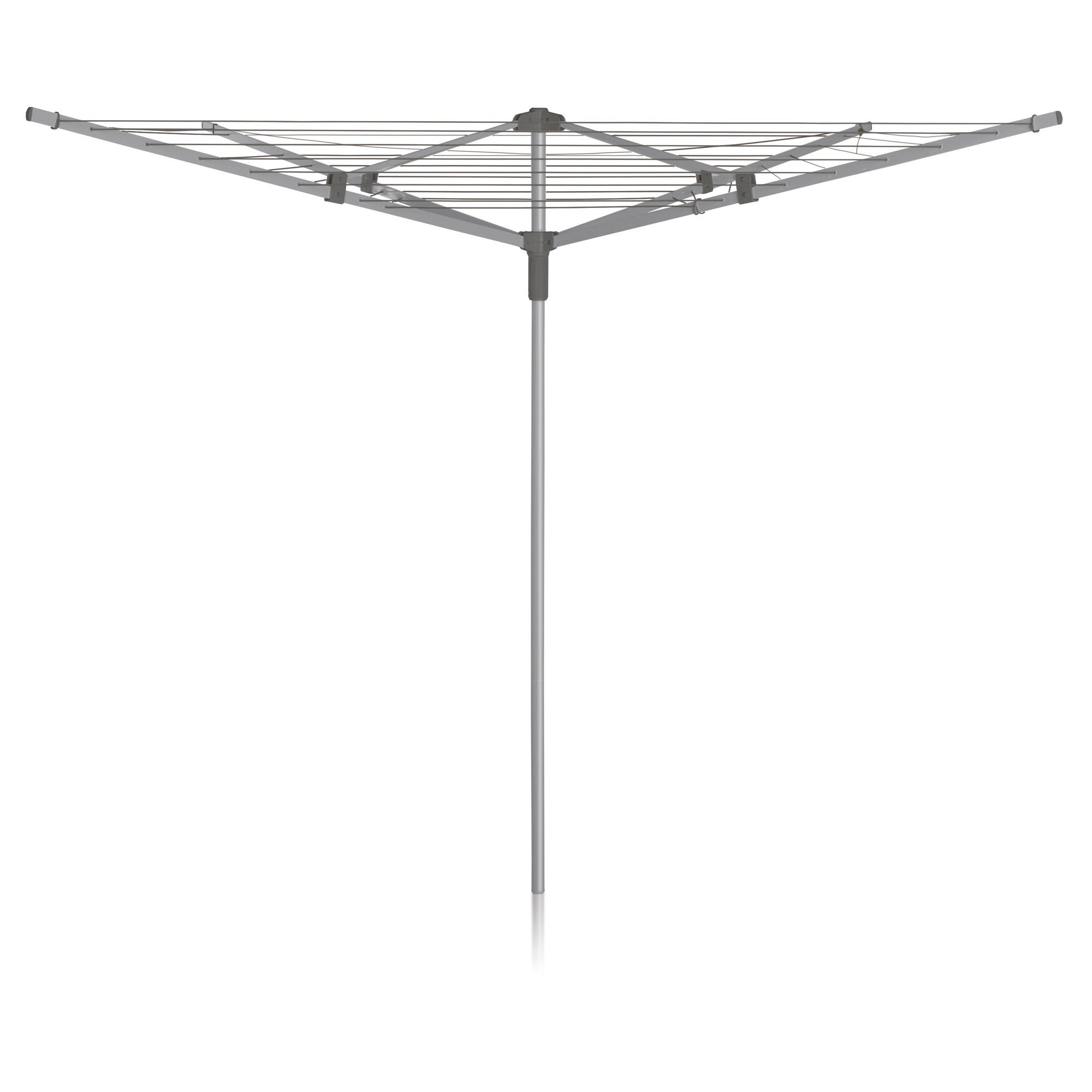 Photo of Addis 4 arm rotary airer silver