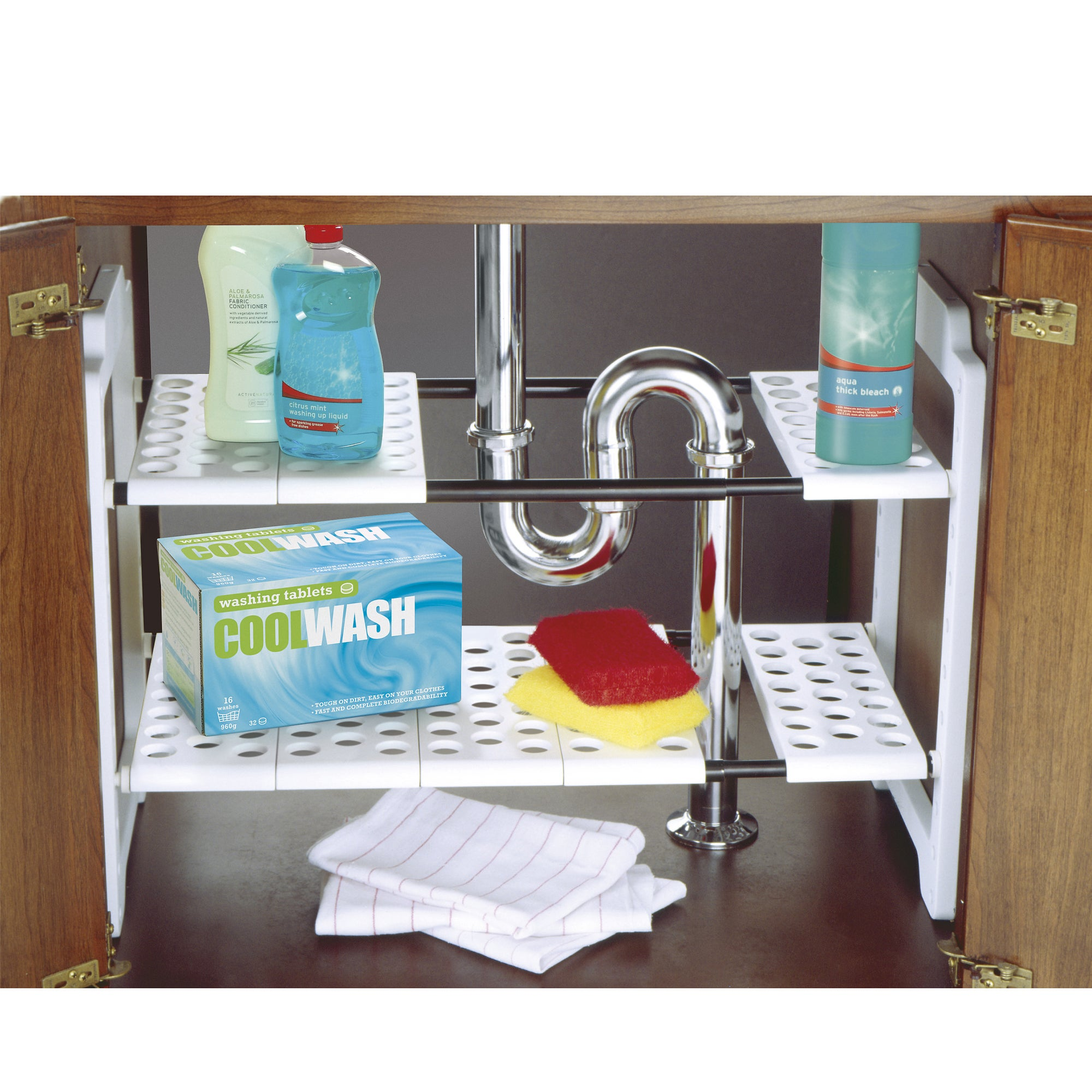 Addis Kitchen Sense Under Sink Storage Unit White