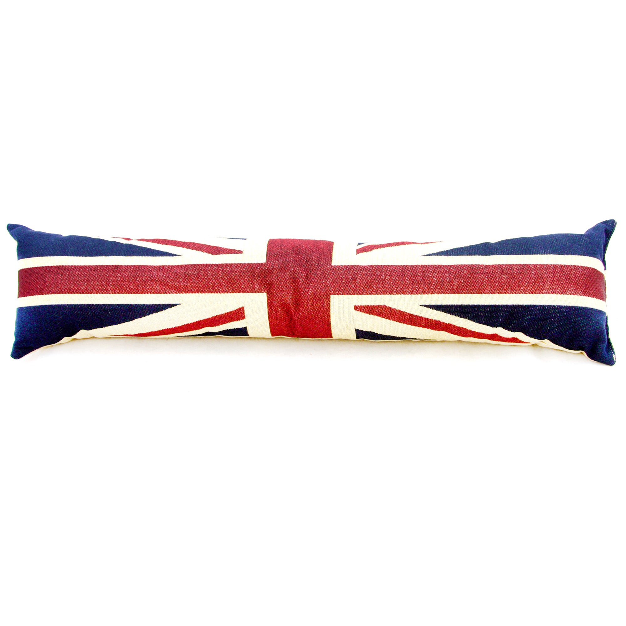 Vintage Union Jack Draught Excluder Blue  Red