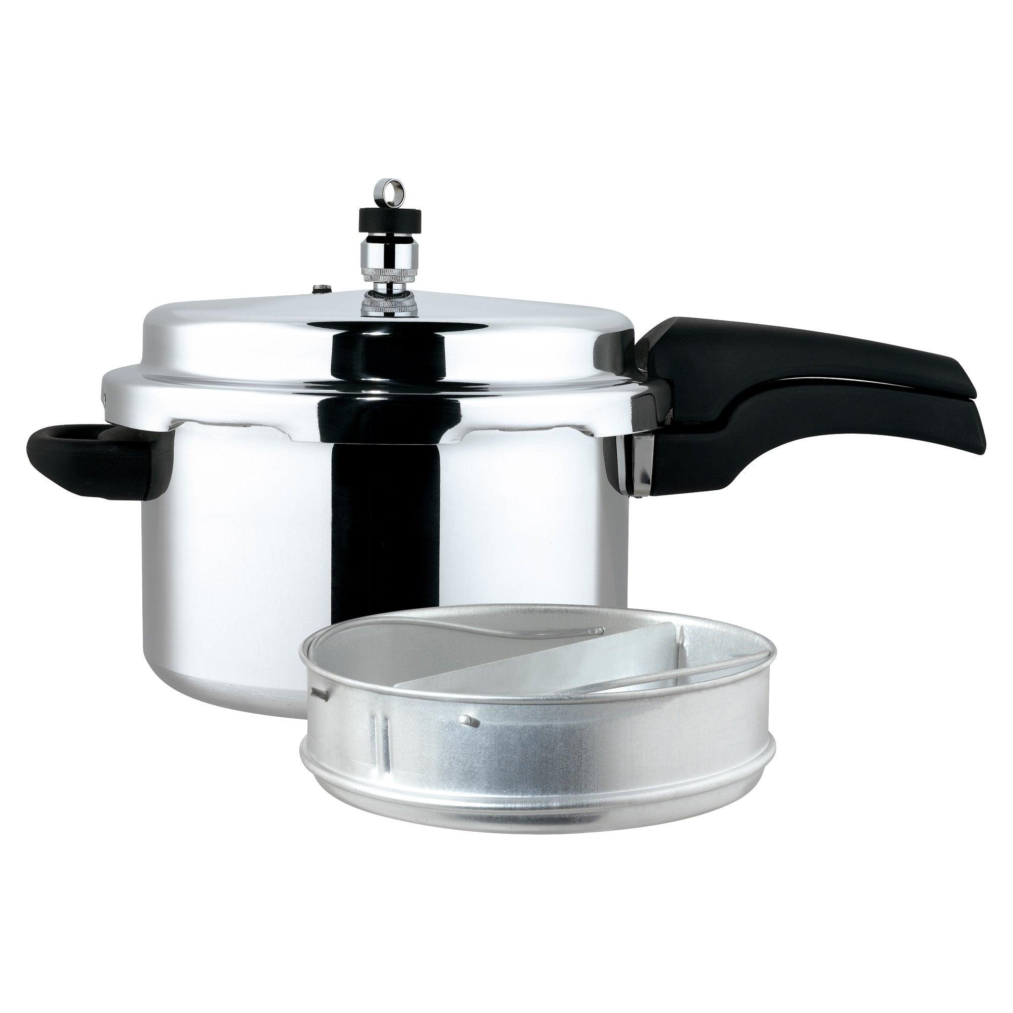 Prestige 4 Litre High Dome Pressure Cooker Silver