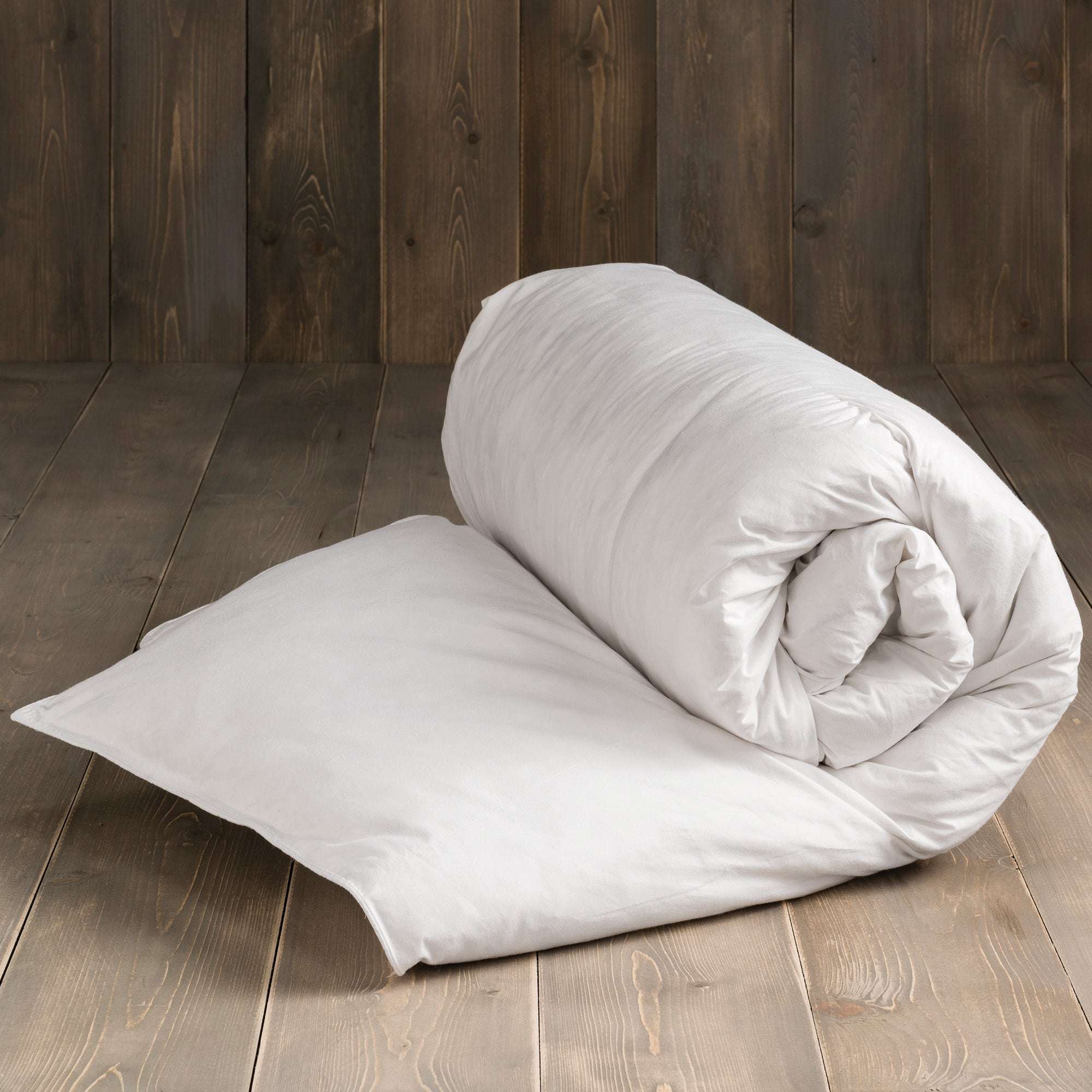 Image of Duck Feather and Down 13.5 Tog Duvet White