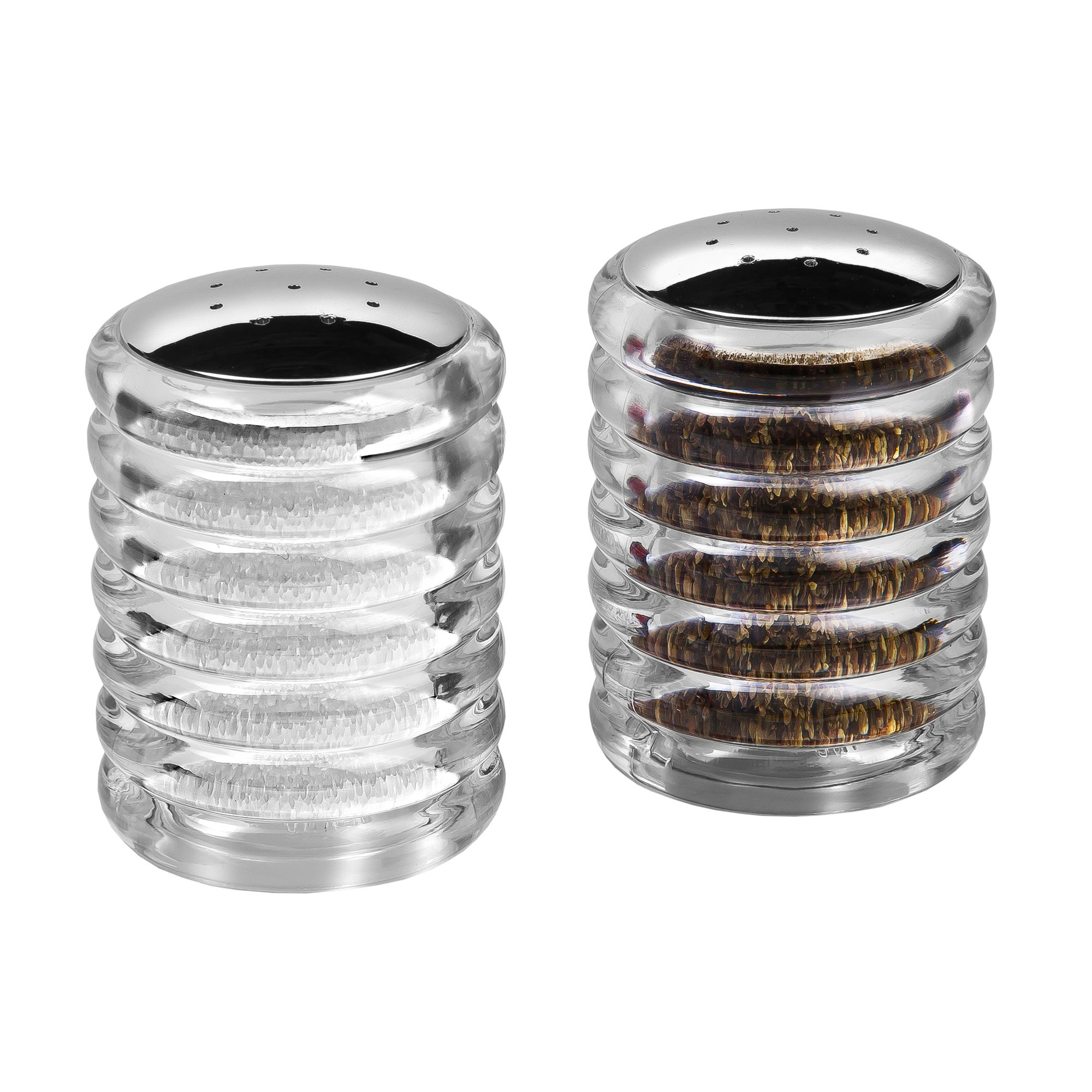 Photo of Cole & mason beehive salt and pepper shakers clear