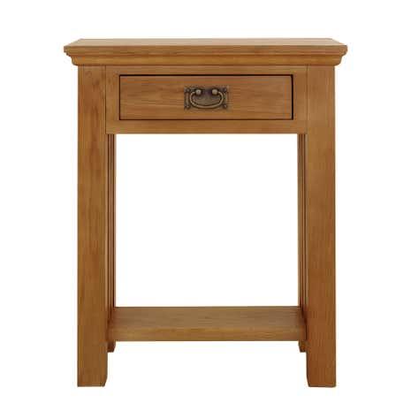 Dorchester Oak Telephone Table